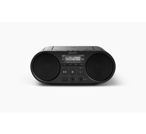 Sony ZSPS50 CD Boombox with AM/FM Digital Radio Tuner and USB Playback