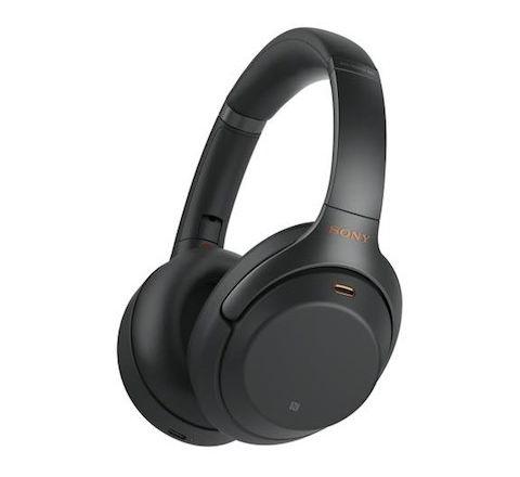 Sony Wireless Noise-Canceling Headphones Black - SKU WH1000XM3