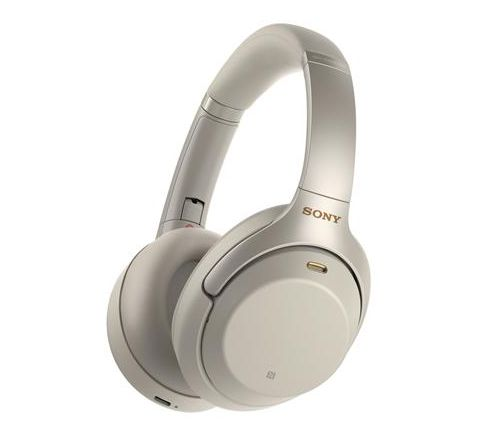 Sony Wireless Noise-Canceling Headphones Silver - SKU WH1000XM3S