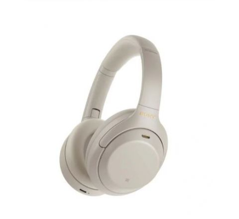 Sony Wireless Noise Cancelling Headphones Silver - SKU WH1000XM4S